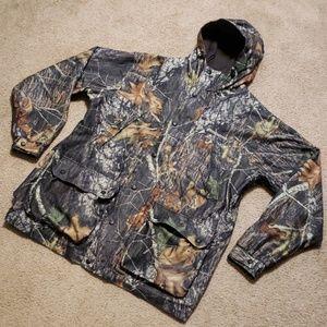 Winchester Mossy Oak Camouflage Jacket Coat Hooded